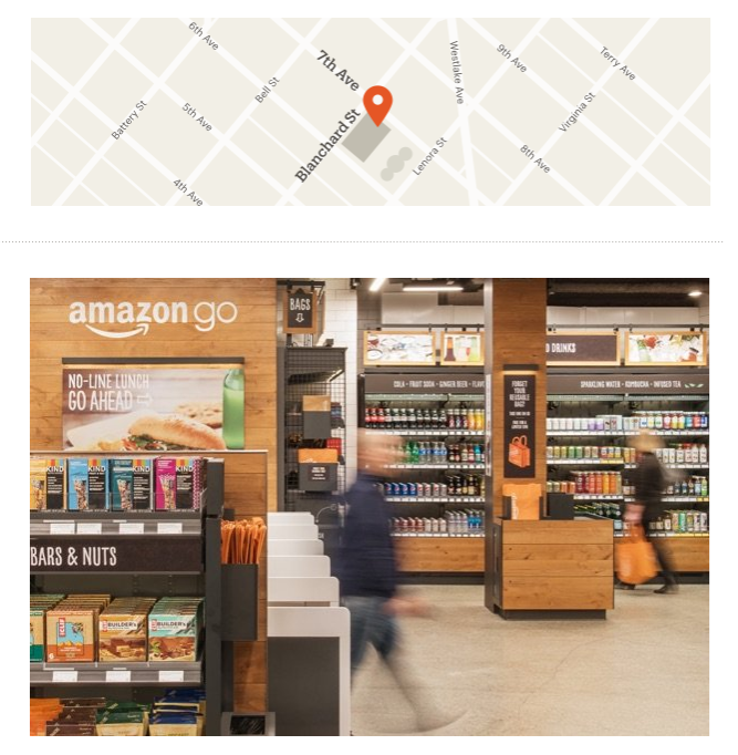 Aperto a Seattle Amazon Go, supermercato senza casse