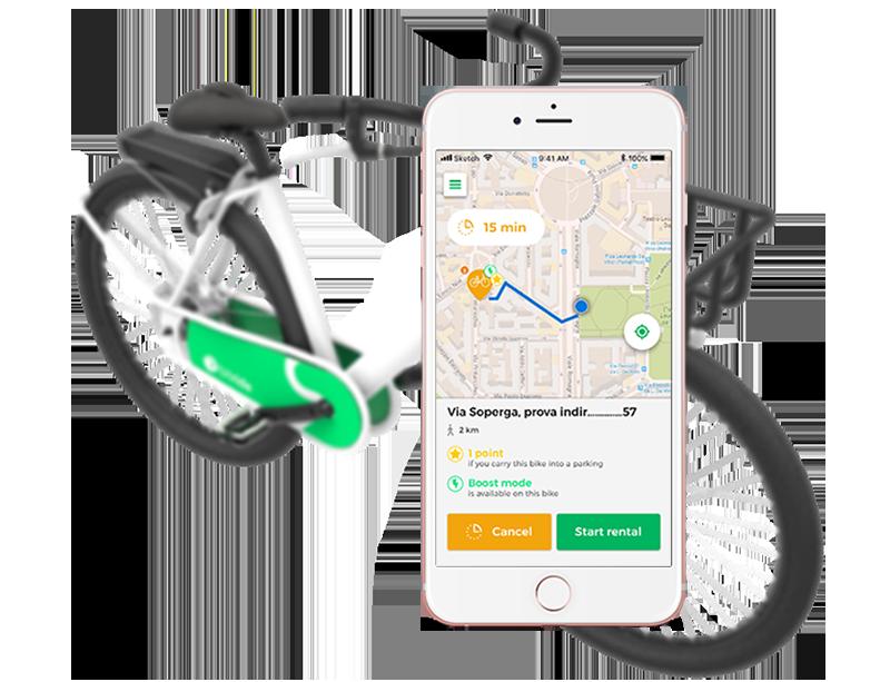 Arriva a Milano Bitride il nuovo servizio di bike sharing free floating a pedalata assistita