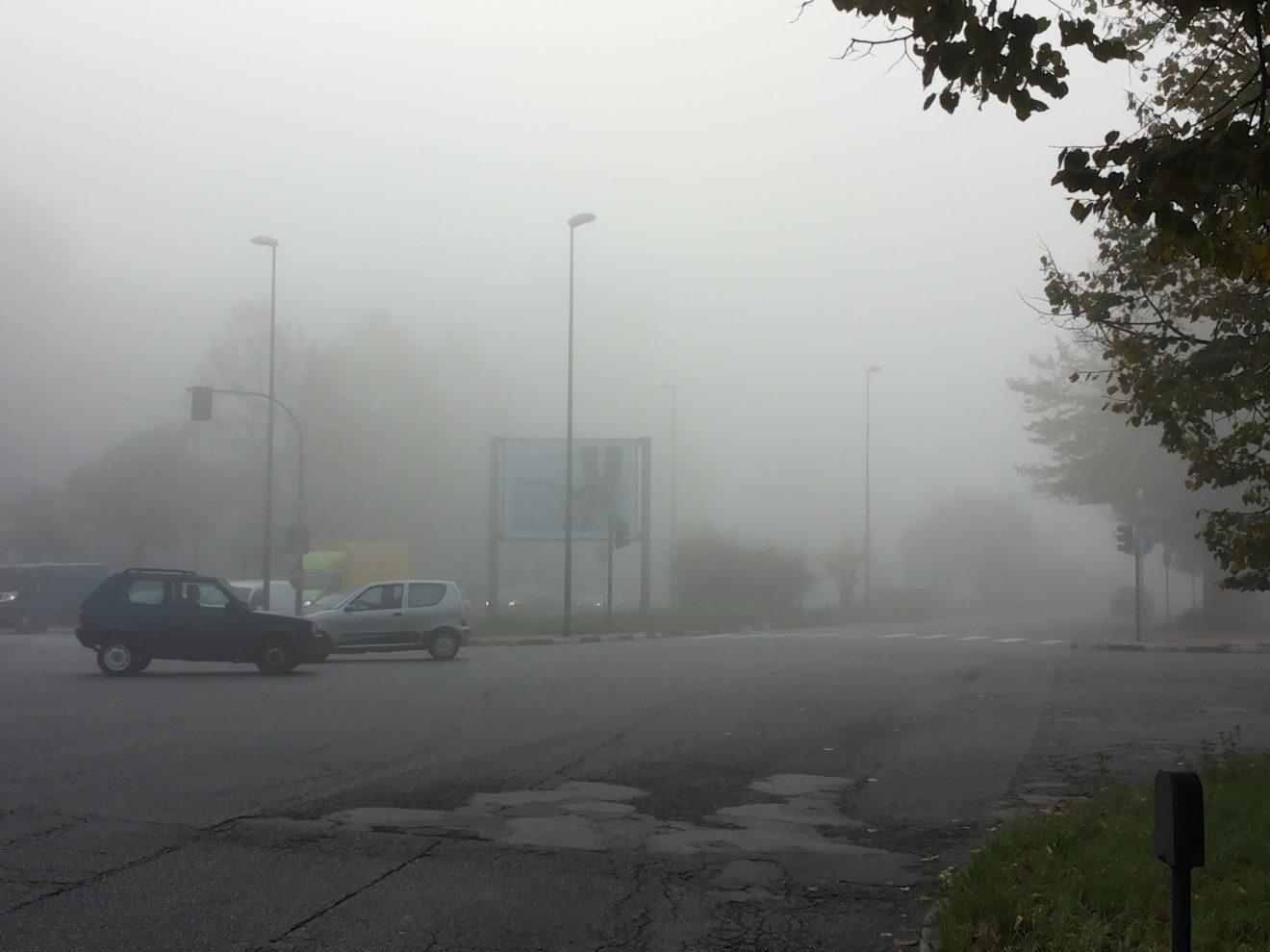 Smog: la nebbia aumenta la tossicità delle polveri sottili
