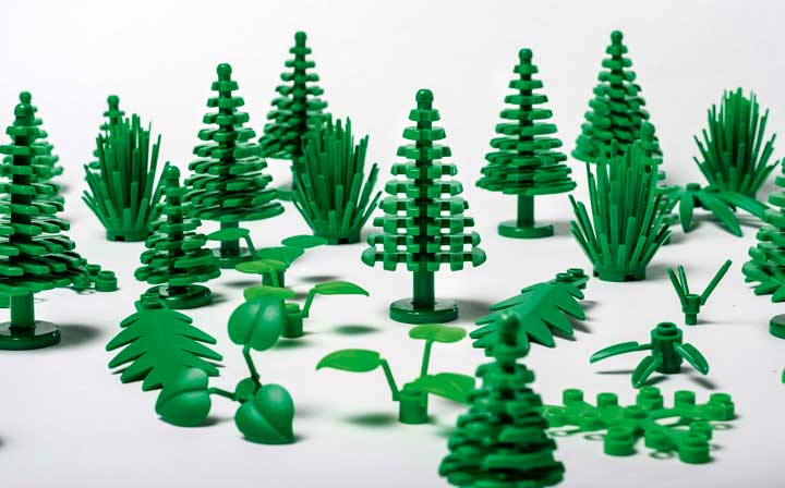 LEGO: arrivano i mattoncini prodotti con una nuova plastica di origine vegetale