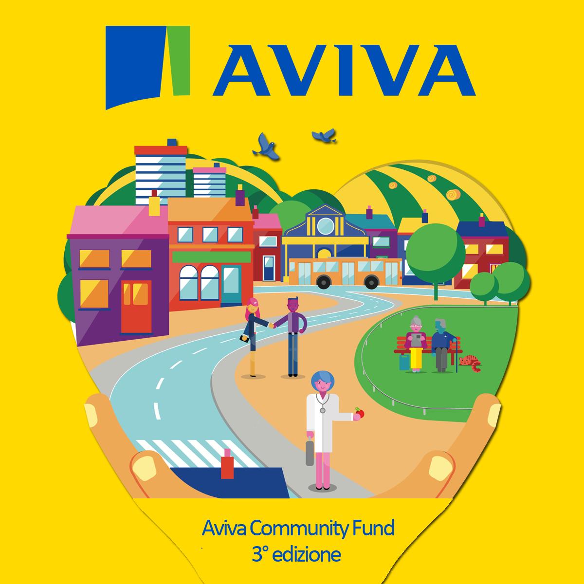 Aviva Community Fund annuncia i vincitori della terza edizione del suo concorso.