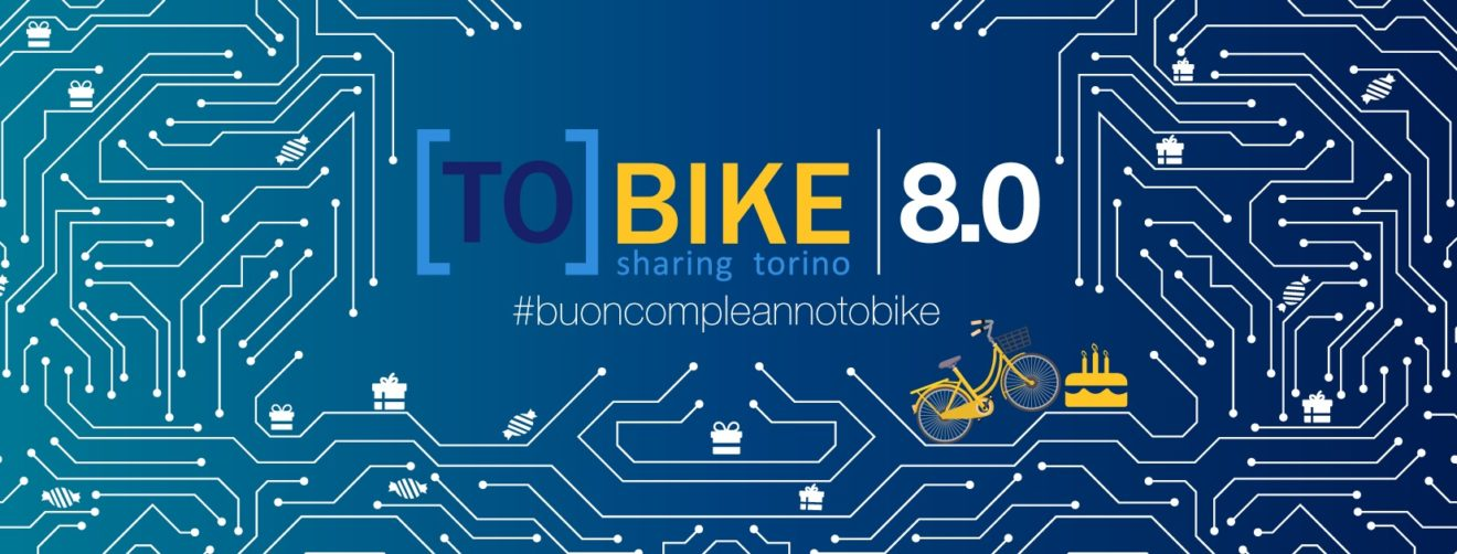 ToBike compie 8 anni e ringrazia tutti i suoi utenti con sconti e premi.