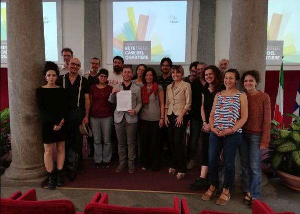 Patto tra Comune di Torino e Case del quartiere per la promozione di strutture intermedie per la cittadinanza attiva
