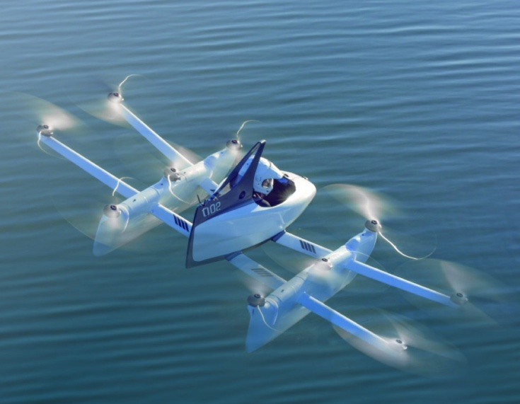 Kitty Hawk, l'automobile volante pensata da Larry Page di Google diventa realtà