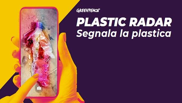 Greenpeace #Plasticradar vuole ricevere le tue segnalazioni sui rifiuti di plastica tramite Whatsapp.