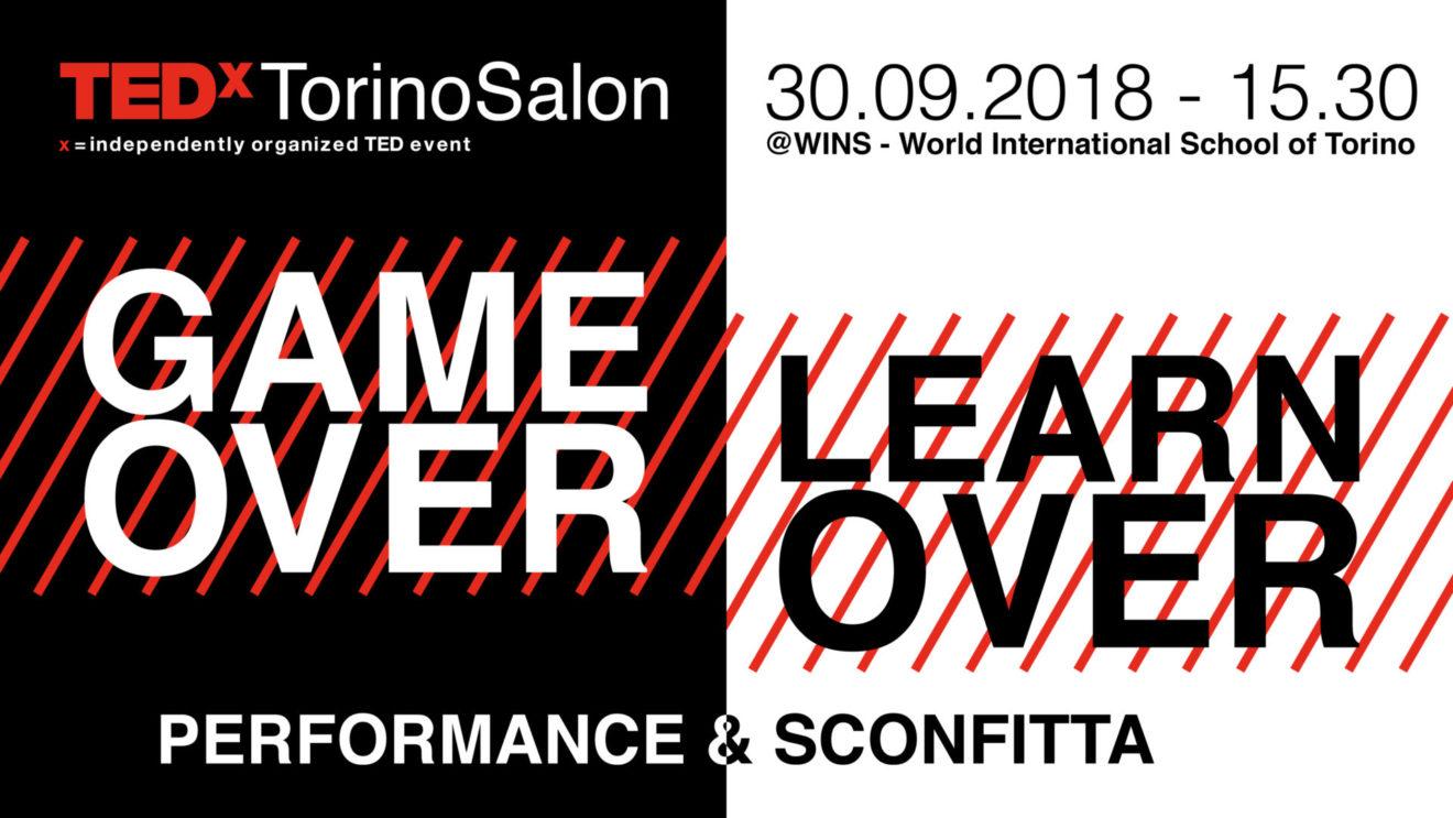 TEDxTorinoSalon il 30 settembre si parla di Sconfitta e Performance
