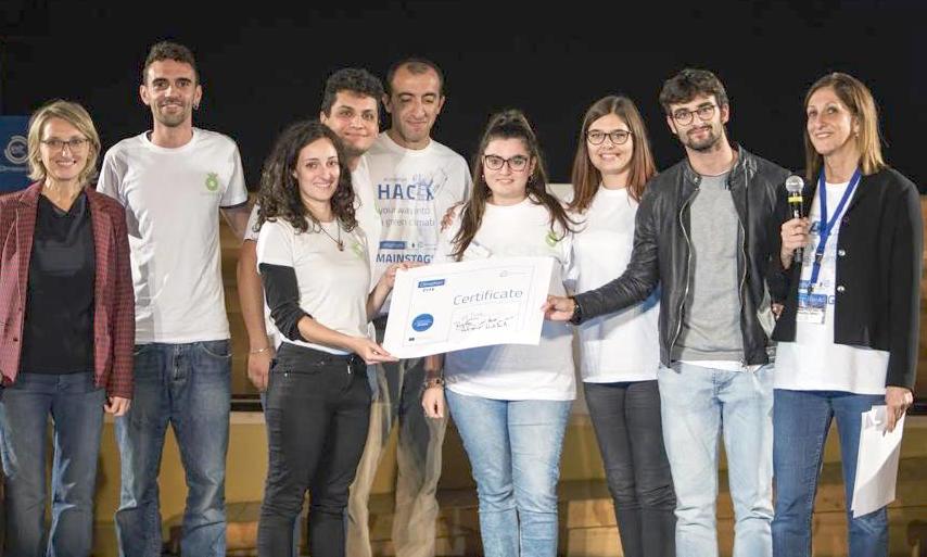 Climathon Torino: vince l'idea di un collettore smart d'acqua piovana