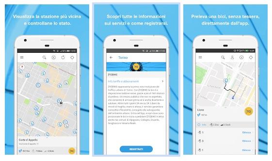 Disponibile la nuova app BicinCittà