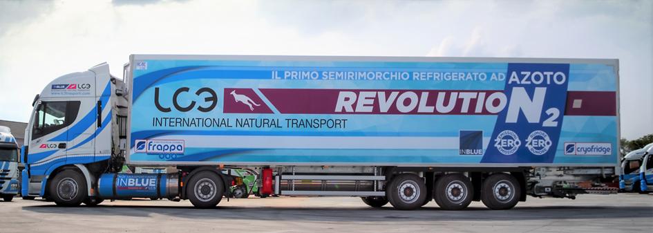 Lidl presenta il primo veicolo refrigerato ad azoto liquido con zero emissioni e zero rumore