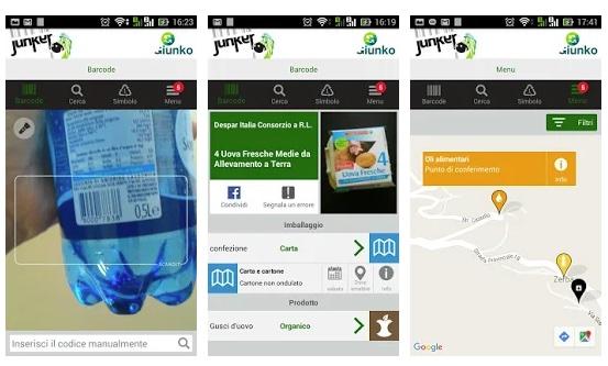 Arriva anche a Torino Junker la app che rende più semplice la raccolta differenziata dei rifiuti