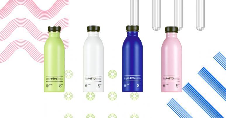 #MyPoliTObottle: una borraccia per le matricole del Politecnico di Torino per ridurre il consumo di plastica