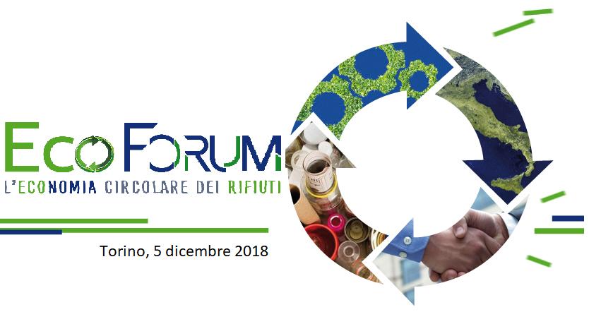 Torna il 5 dicembre a Torinol'EcoForum per l'Economia Circolare del Piemonte