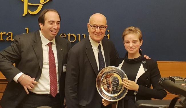 A Bebe Vio Il premio speciale Innovation Leader Awards dell'Associazione Nazionale Giovani Innovatori.