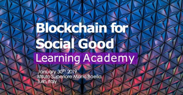 Blockchain for Social Good Learning Academy