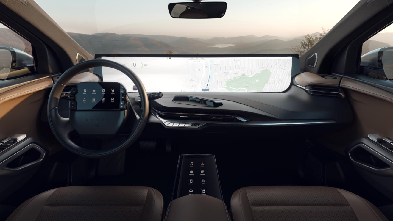 Byton M-Byte: il suv elettrico da 40 mila euro con schermo da 48 pollici che vuole fare concorrenza a Tesla