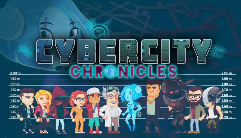 Cybercity Chronicles la prima app di edutainment ambientata nel cyberspazio per un uso positivo, corretto e consapevole di Internet