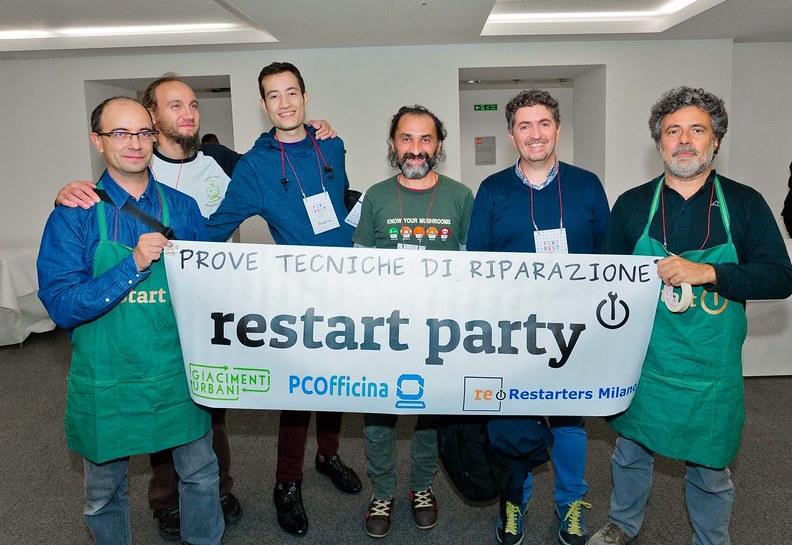 A Torino Mini Maker Faire la  prima edizione italiana del Fixfest, raduno nazionale dei riparatori volontari