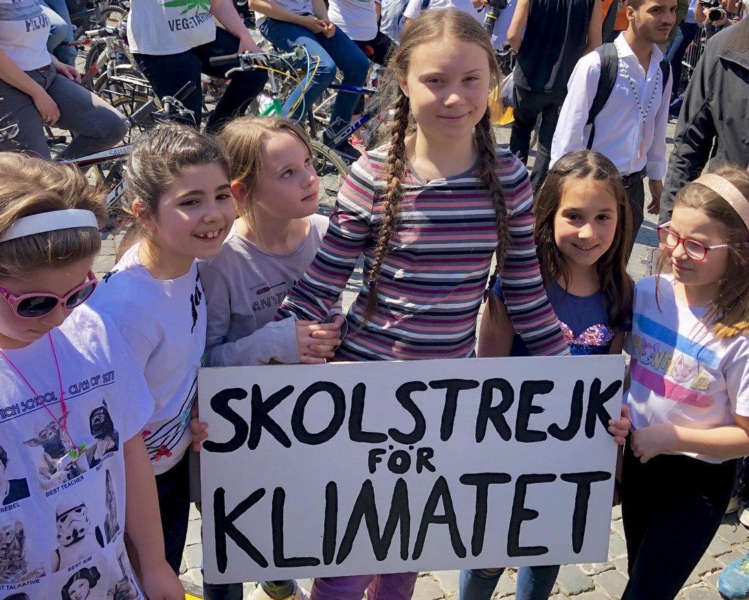 In 25 mila in Piazza San Giovani per Greta Thumberg: il discorso integrale a Roma