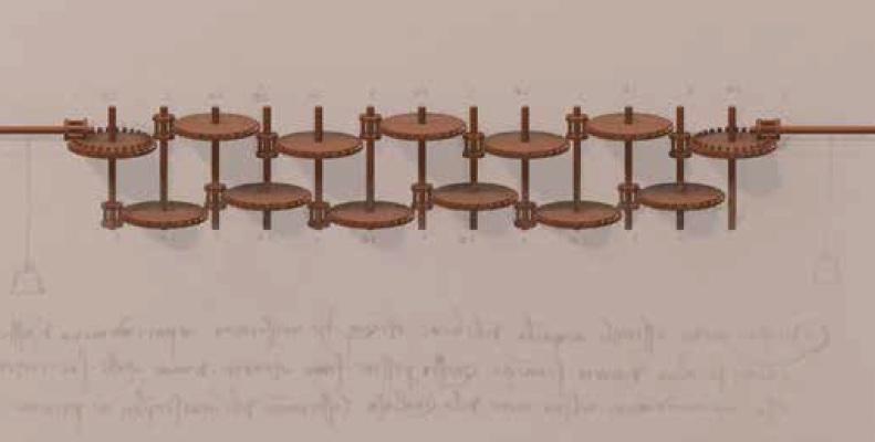Leonardo da Vinci il calcolatore: la ricostruzione 3D della calcolatrice neli Codici di Madrid