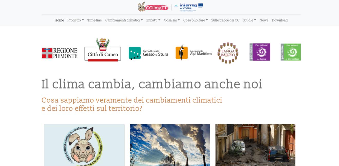 Inizia il tour informativo sui cambiamenti climatici coordinato dalla Regione Piemonte