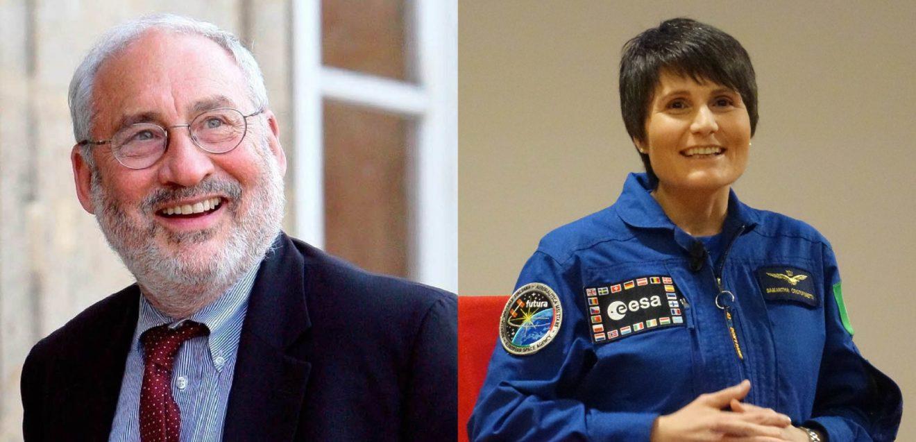 Lauree ad honorem all'interno del Festival della Tecnologia al Premio Nobel Joseph Stiglitz e l'astronauta Samantha Cristoforetti.