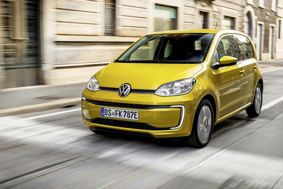 E-Up la nuova versione elettrica dell'utilitaria Volkswagen