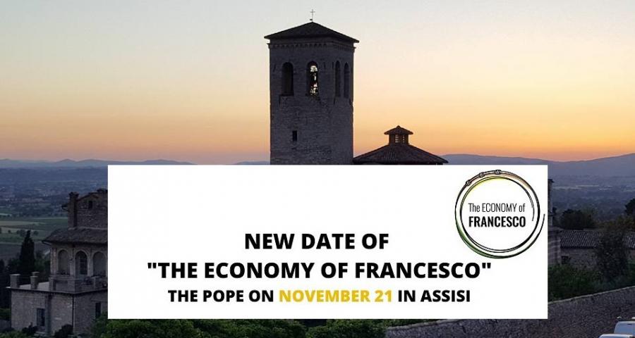 The Economy of Francesco  rinviata al prossimo 21 novembre ad Assisi