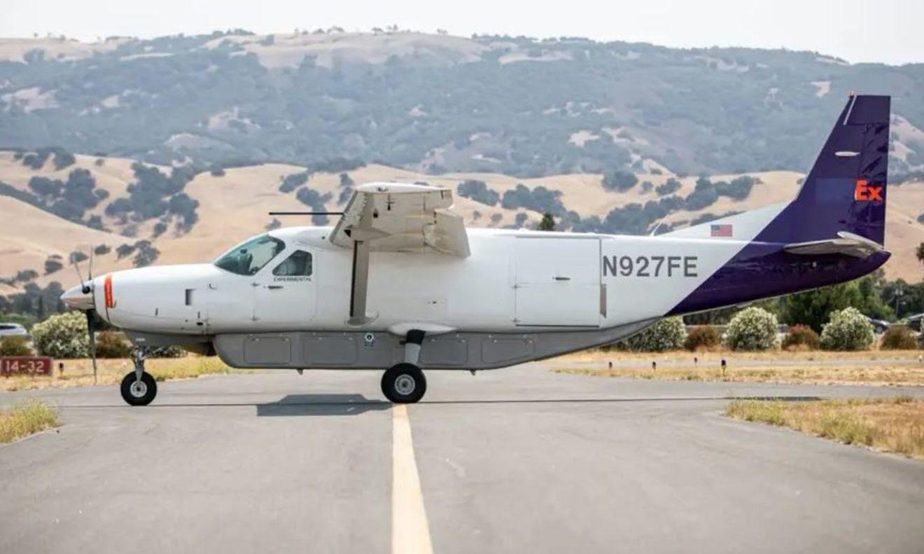 Fedex sta testando degli aerei autopilotati per le zone più remote