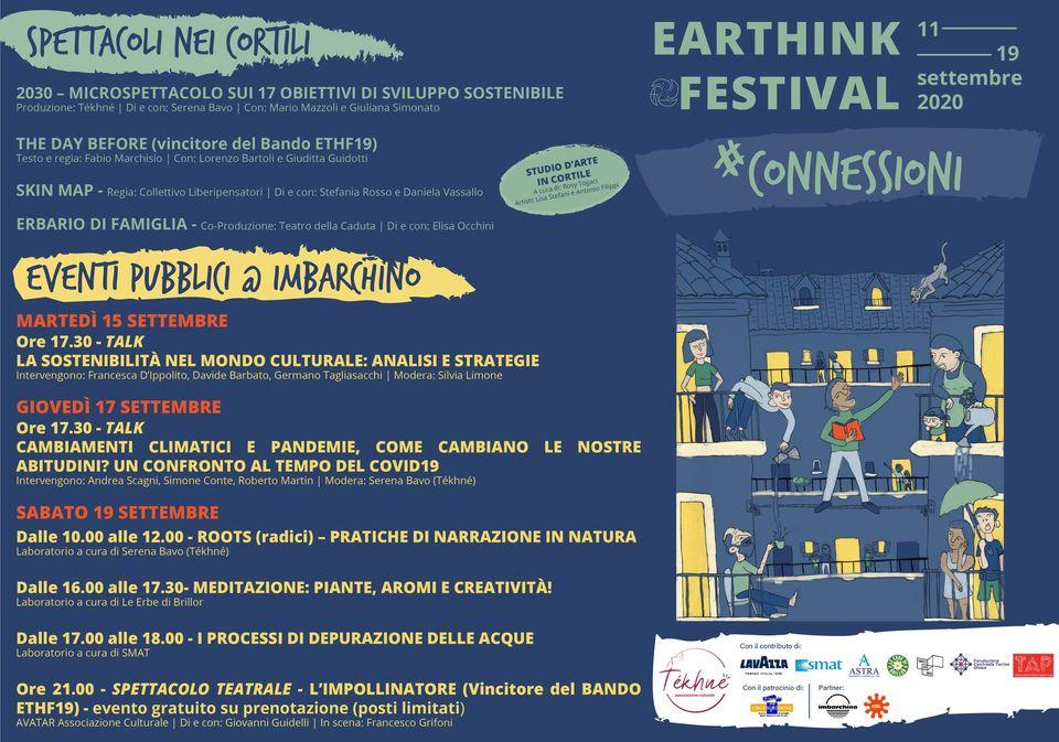 Earthink Festival: arti performative e ambiente nei condomini e negli eventi dal vivo