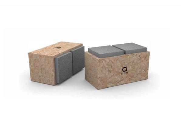 Gablok il sistema che permette di autocostruirsi una casa ecocompatibile e sostenibile con blocchi isolati di legno coibentato come fosse Lego