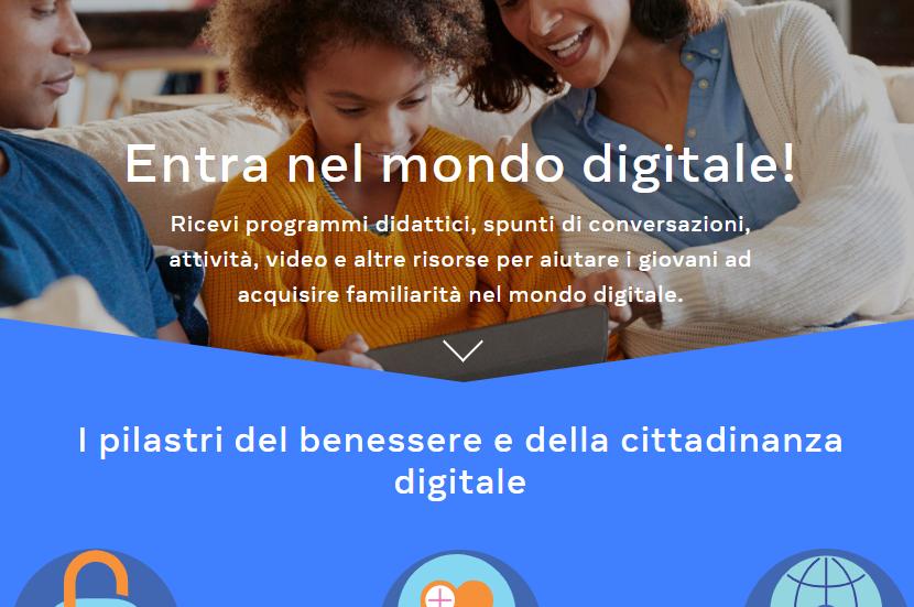 Facebook lancia GetDigital, un progetto per aiutare genitori, educatori e giovani a muoversi sicuri nel mondo digitale insieme alla fondazione Carolina