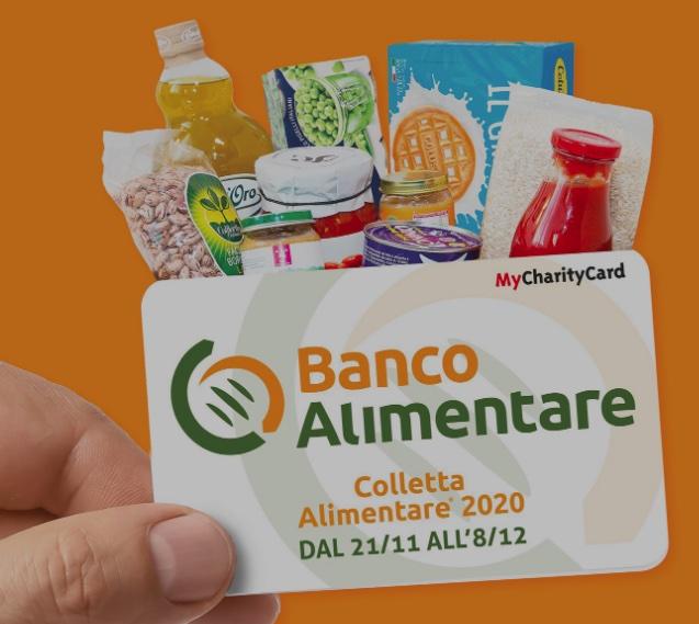 La Colletta Alimentare 2020 si smaterializza attraverso l'uso di card da donare che verranno convertite in prodotti alimentari per le persone in difficoltà