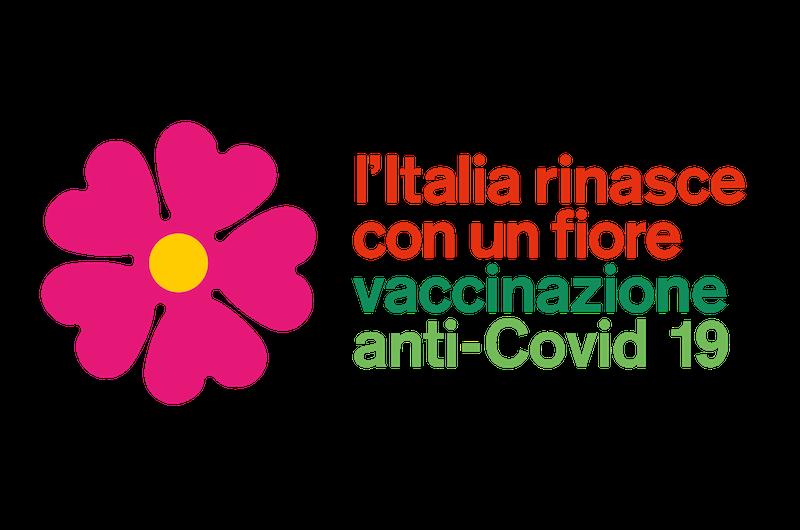 Presentata la campagna dei vaccini anti covid19: L'Italia rinasce con un fiore