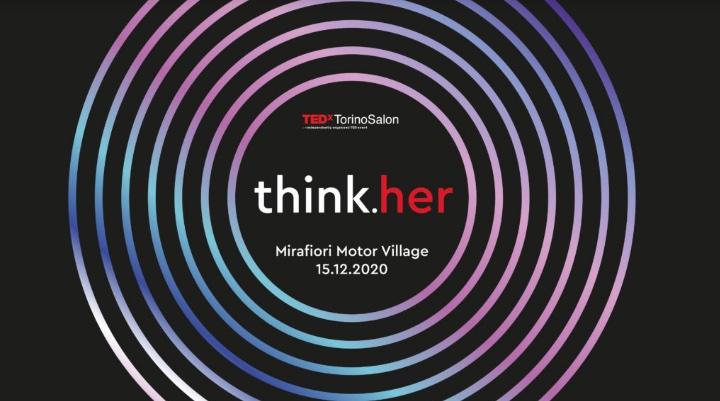 TEDxTorino Salon think.her dedicato al pensiero al femminile in streaming il 15 Dicembre